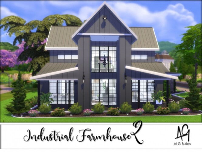Industrial Farmhouse 2 by ALGbuilds