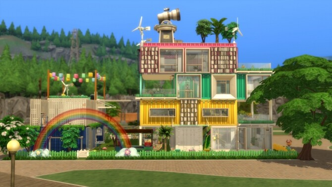 Rainbows House No CC by mamba black at Mod The Sims image 16311 670x377 Sims 4 Updates