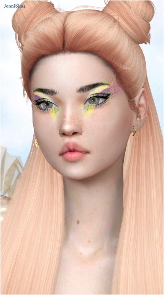 Sims 4 Dance of the East eyeshadow at Jenni Sims