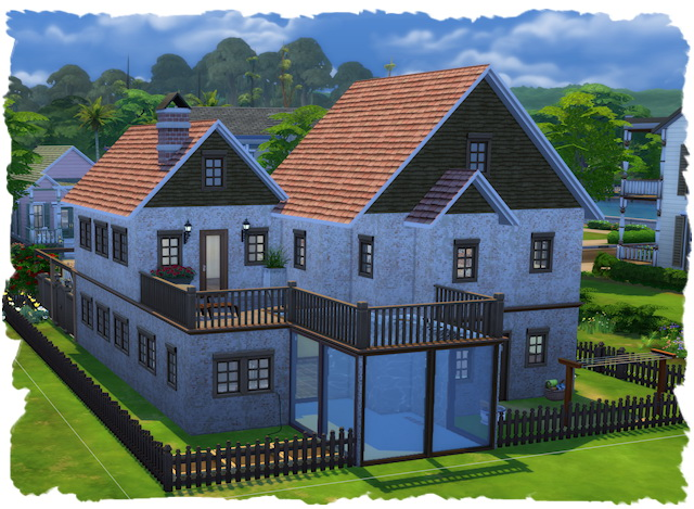 Sims 4 Country life house by Chalipo at All 4 Sims