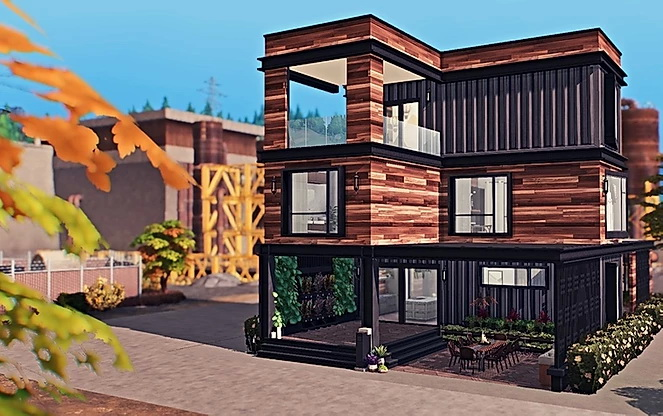 Eco Chic Container Home by Sooky