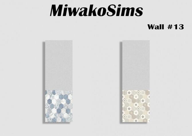 Sims 4 Collection walls #13 at MiwakoSims