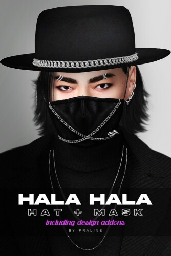 Hala Hala hat mask