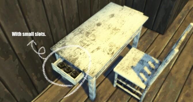 Grunge Desk & Chair at Haruinosato's CC image 1708 670x355 Sims 4 Updates