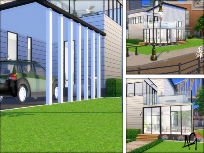 Sims 4 Aniyah Sustainable Living by ALGbuilds at TSR