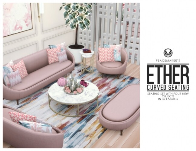 Ether Curved Seating Four New Options