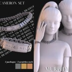 Cameron necklace and bracelet by Silence Bradford