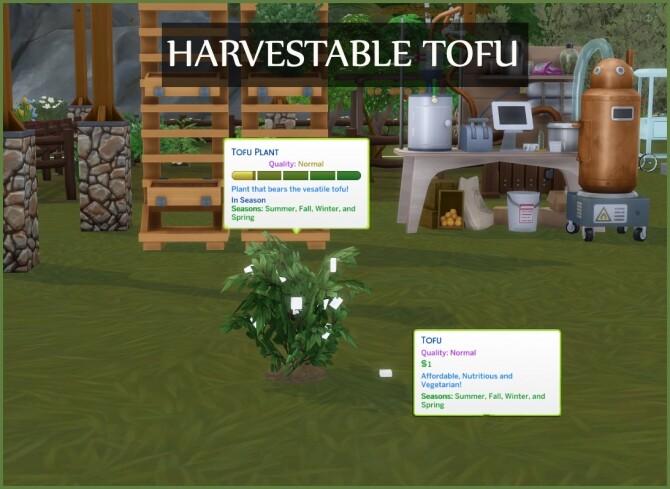 Sims 4 HARVESTABLE TOFU at Icemunmun