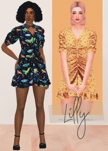 Lilly Dress by Anna
