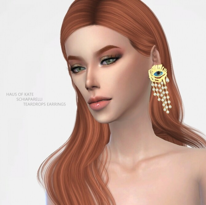 Teardrops Earrings at Haus of Kate image 1808 670x669 Sims 4 Updates