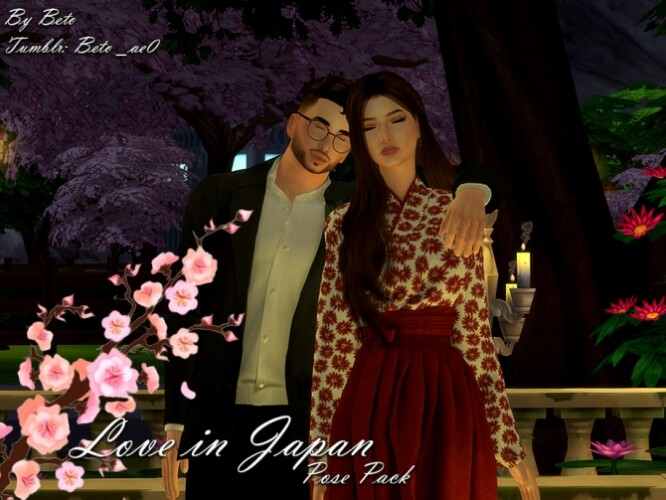 Love in Japan Pose Pack by Beto_ae0