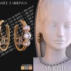 Esmee Earrings by Silence Bradford