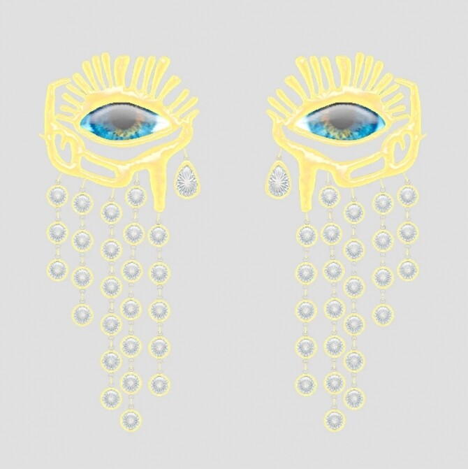 Teardrops Earrings at Haus of Kate image 18113 670x671 Sims 4 Updates