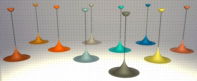 Sims 4 Recolors from MeinKatz: Chair, Table, Vase & Lamp at Riekus13