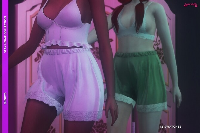 Sims 4 STAY HOME Collection at SERENITY