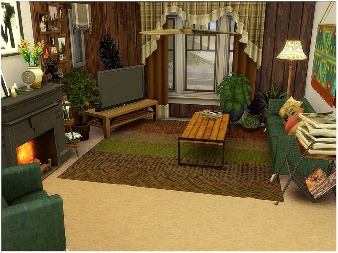 Sims 4 OLD Family Cottage by lotsbymanal at TSR