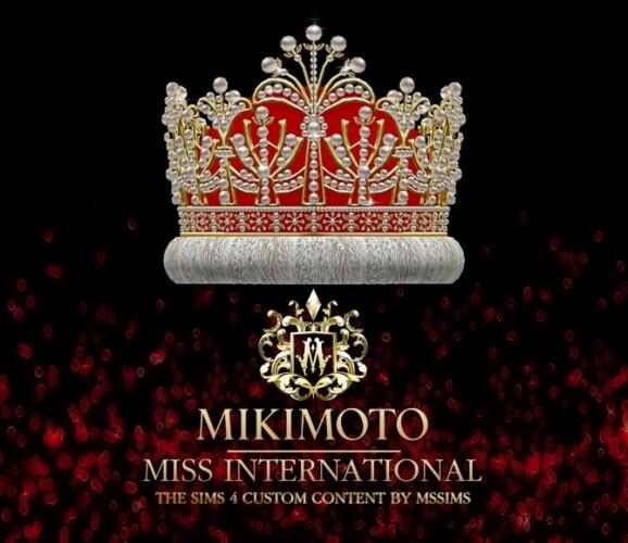 MIKIMOTO MISS INTERNATIONAL CROWN