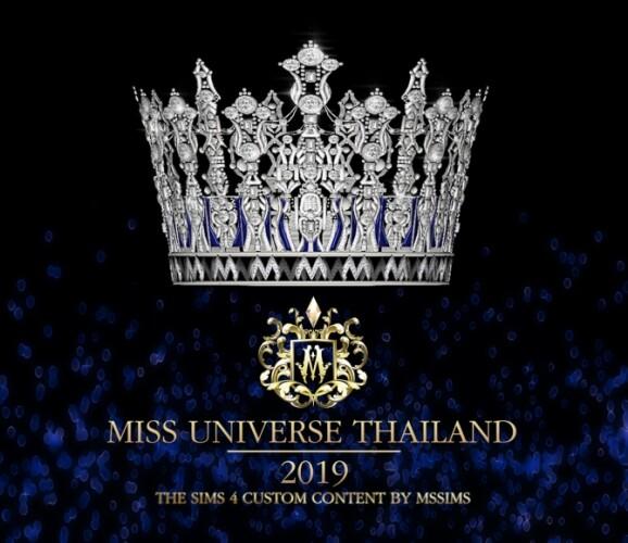 MISS UNIVERSE THAILAND 2019 CROWN