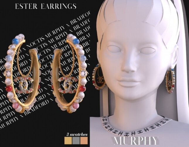 Ester Earrings by Silence Bradford