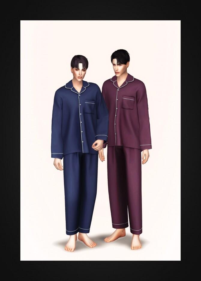 Pajama Set AM at Gorilla image 19111 670x937 Sims 4 Updates