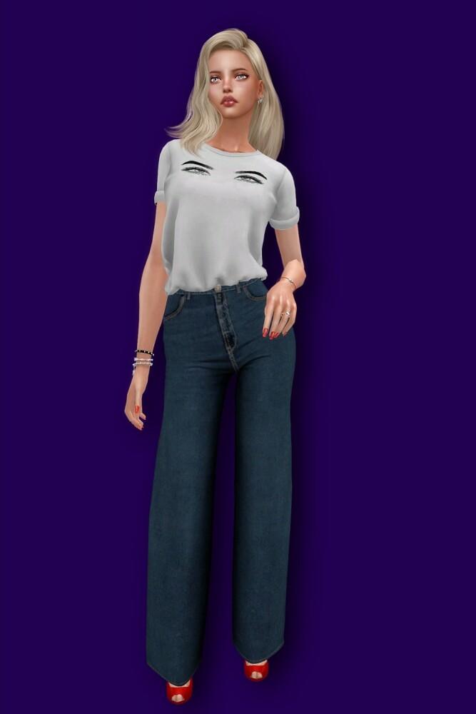 Painting t shirt at L.Sim image 1923 667x1000 Sims 4 Updates