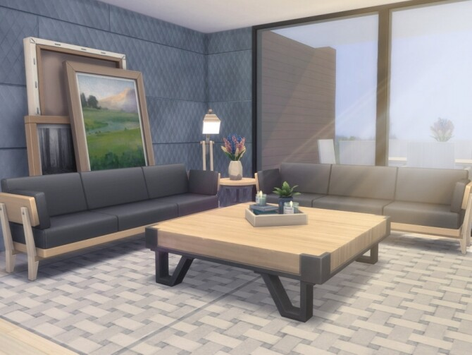 Sims 4 Eco Bay Home by Summerr Plays at TSR