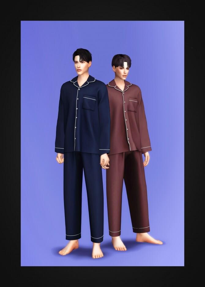 Pajama Set AM at Gorilla image 1928 670x937 Sims 4 Updates