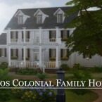 1940s Colonial Family Home by vmr394