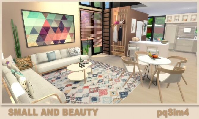 Small and Beauty Home at pqSims4 image 1977 670x401 Sims 4 Updates