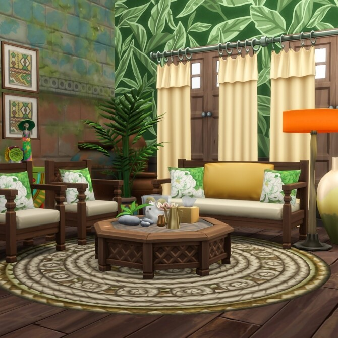 Shrunken Square Coffee Tables Resized at Simsational Designs image 1984 670x670 Sims 4 Updates