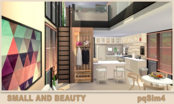 Small and Beauty Home at pqSims4 image 1987 670x401 Sims 4 Updates