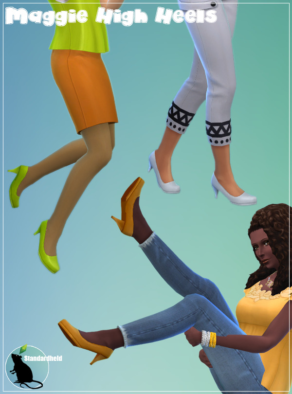 Maggie High Heels Recolor at Standardheld image 1991 Sims 4 Updates