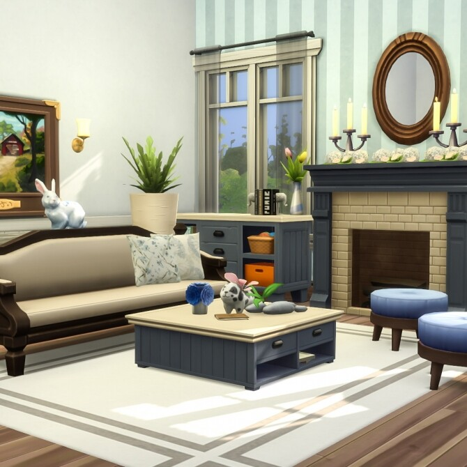 Shrunken Square Coffee Tables Resized at Simsational Designs image 1994 670x670 Sims 4 Updates