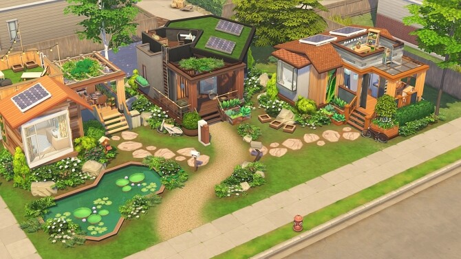 ECO TINY HOUSE COMMUNITY