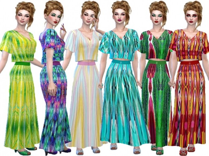 Colorful set 3 by TrudieOpp at TSR image 2019 670x503 Sims 4 Updates