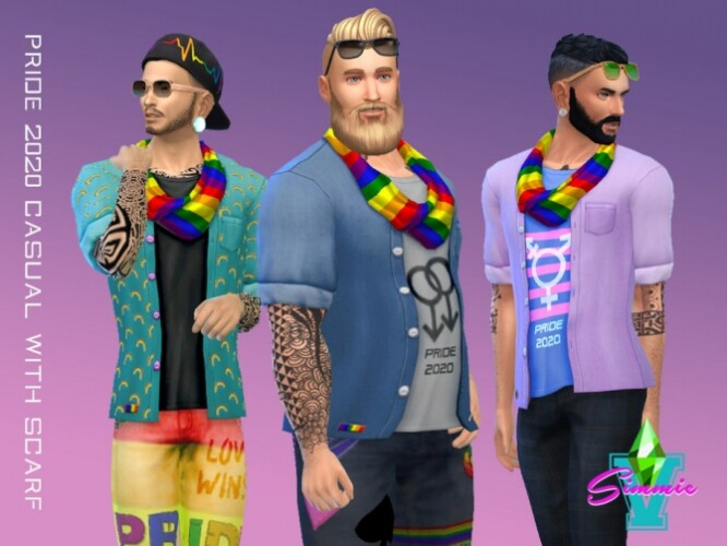 Casual Scarf Pride 2020 by SimmieV