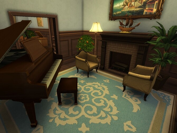 1940s Colonial Family Home by vmr394 at TSR image 2049 670x503 Sims 4 Updates