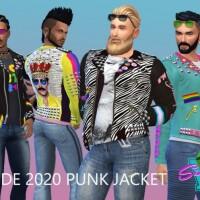 Pride 2020 Punk Jacket by SimmieV