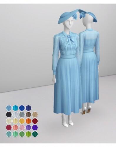 Duchess of Blue Dress