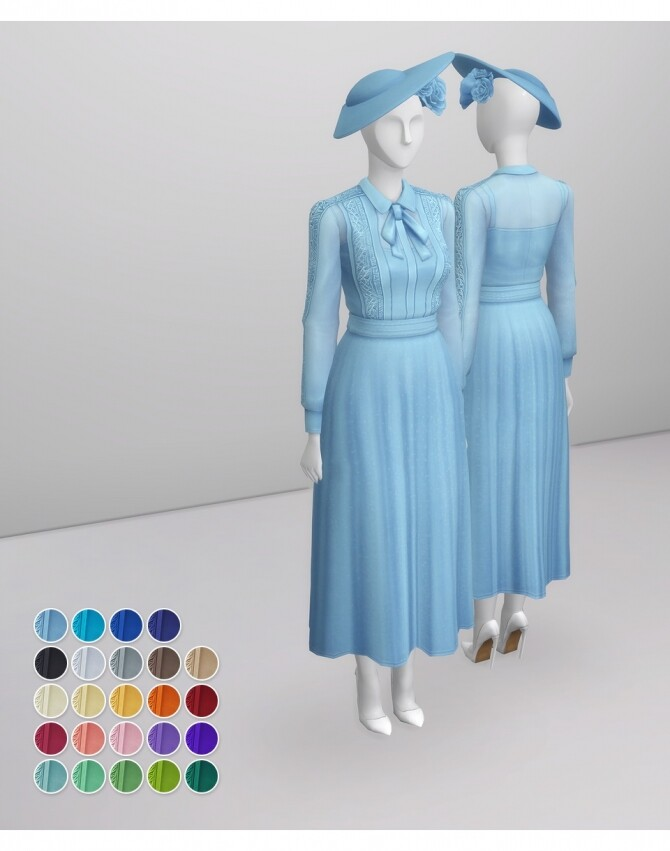 Duchess of Blue Dress at Rusty Nail image 2053 670x851 Sims 4 Updates