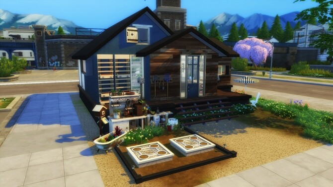 Sims 4 Eco Living House at L.Sim