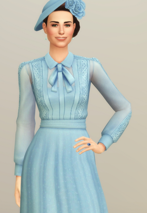 Duchess of Blue Dress at Rusty Nail image 2072 Sims 4 Updates
