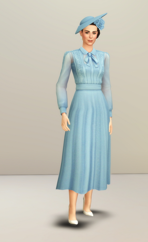 Duchess of Blue Dress at Rusty Nail image 2082 Sims 4 Updates