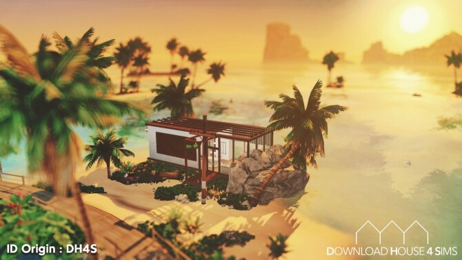 Ultra Modern Beach House at DH4S image 2085 670x377 Sims 4 Updates