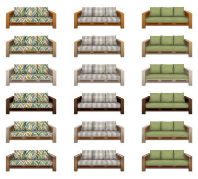 The Pallet Sofa at SimPlistic image 2109 Sims 4 Updates