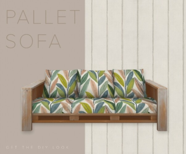 The Pallet Sofa