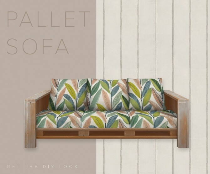 The Pallet Sofa at SimPlistic image 21112 670x556 Sims 4 Updates