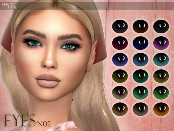 Sims 4 Eyes N02 by MagicHand at TSR