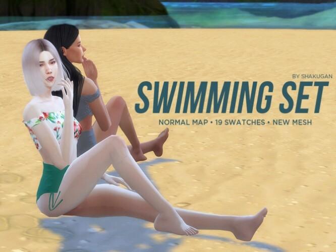 Swimming Top and Bottom by Alexa Catt