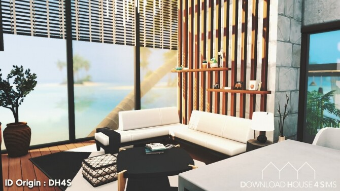 Ultra Modern Beach House at DH4S image 21310 670x377 Sims 4 Updates
